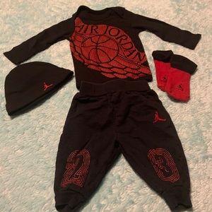 Boys Air Jordan set
